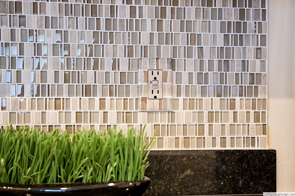 After - Tile Backsplash
