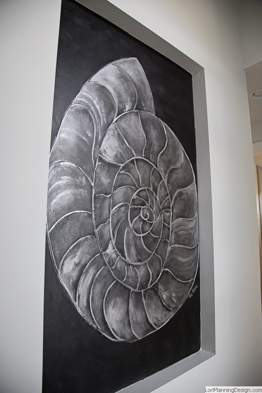 Faux Finish Shell Mural