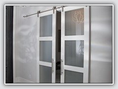 Sliding Doors with frosted glass